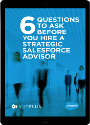 6 questions salesforce advisor resource download