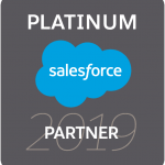 2019 Salesforce Platinum Partner badge